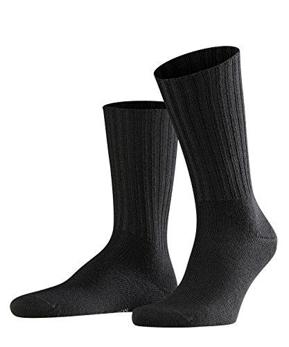 FALKE Herren Socken Nelson - Merinowollmischung, 1 Paar, Schwarz (Black 3000), Größe: 39-42