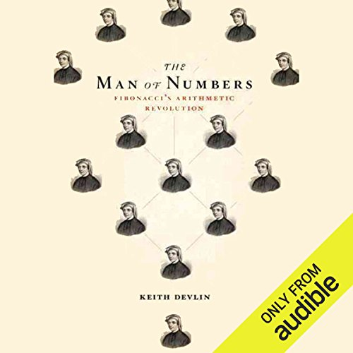 The Man of Numbers audiobook cover art