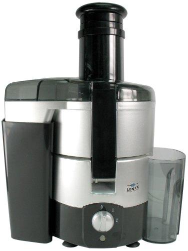 Lentz Home Design ES 3 schwarz/silber Entsafter 450 W
