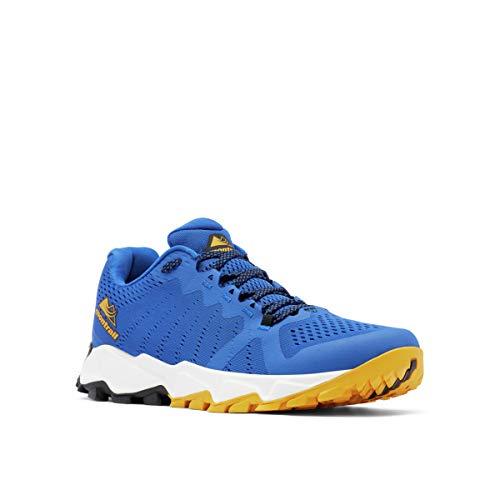 Columbia Trans ALPS F.K.T. III, Zapatillas para Carreras de montaña para Hombre, Azul Dorado Brillante, 46 EU