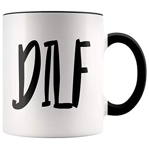 Queen54ferna Dilf-11 oz taza de café para papá-gracioso-regalo-para-papá-caliente-café-taza-regalo-para-papá-regalo-para-papá-papá-regalo