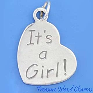 Best its a girl charm Reviews