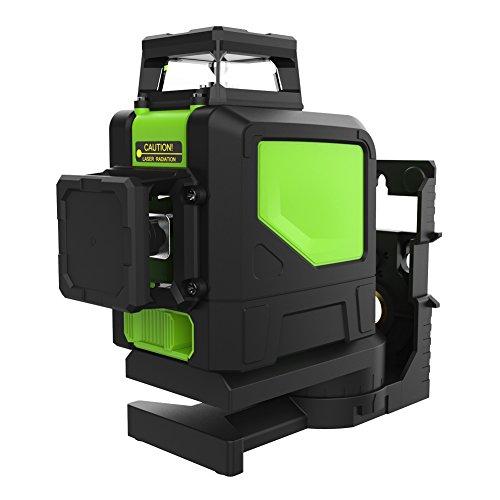 Nivel Láser Verde, Xinrub 8-Line 902CG Green Beam Cross Laser Self-leveling Láser de Líneas Automática 360° Herramienta de Nivelación Rotativa