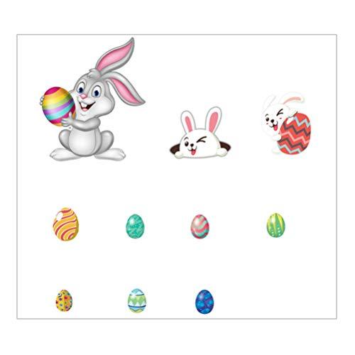 VOSAREA 1 Set Easter Refrigerator Magnet Cartoon Rabbit Easter Egg Decorative Bunny Fridge Magnet Sticker Decoration for Whiteboards Lock Cabinet Photo Menu Message Board Seasonal Decor