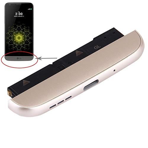 Repuesto LG (Base de Carga Micrófono Altavoz Timbre Timbre) Módulo for LG G5 / F700L (versión KR) Repuesto LG (Color : Gold)