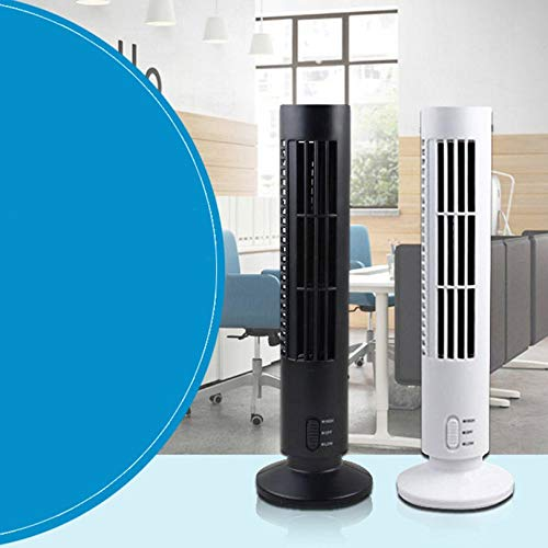 Mini-USB-ventilator zomerventilator Bladeless Air Conditioner Bureau Tower Fan