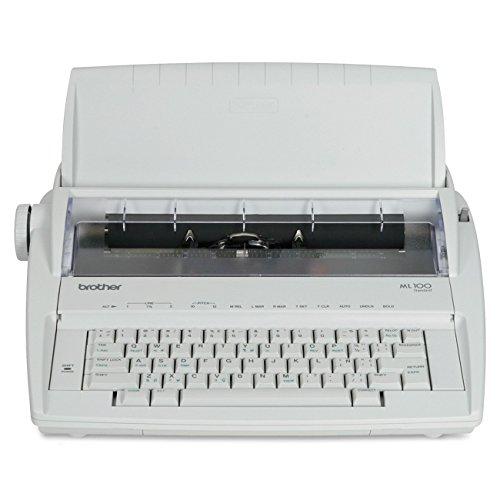 Brother ML-100 Daisy Wheel Electronic Typewriter - (Renewed)