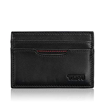 TUMI - Delta Slim Card Case Wallet with RFID ID Lock for Men - Black