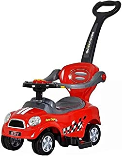 Cool Baby 3 IN 1 Activity Ride-On for Unisex - Red