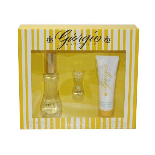 Giorgio Beverly Hills femme / woman, Eau de Toilette Vaporisateur / Spray 50 ml, Bodylotion, Mini-Spray, 1er Pack (1 x 110 ml)