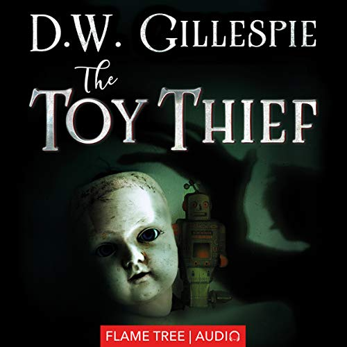 The Toy Thief audiobook cover art