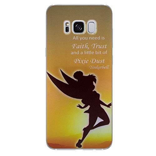 iCHOOSE Peter Pan gelbehuizing voor smartphone Samsung Galaxy S7 Edge Polvere di Fata