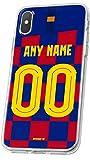 MYCASEFC PHONE CASE BARCELONA Wiko Rainbow Jam FOOTBALL