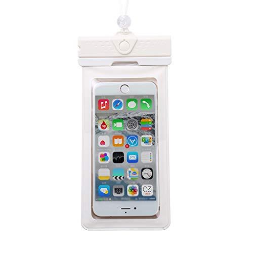 Dubbele waterdichte tas Mobiele telefoon Set Touch Screen Universele Shell Stofzuiger Case Zwemmen Duiken Zes Kleuren 10 * 19,5 cm XMJ