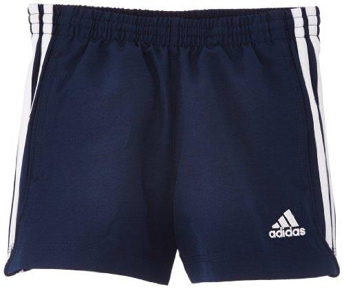 adidas Jungen Sporthose Essentials Woven Chelsea, Navy/Weiß, 140, Z30186