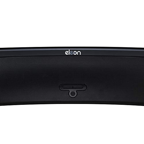 Eleon Marwa 2.1 Sound bar with Built in Dual woofer (60W RMS Sound Output, Co-axial and Optical Input Mode with 1 Year Brand Warranty (ES1096, Black)