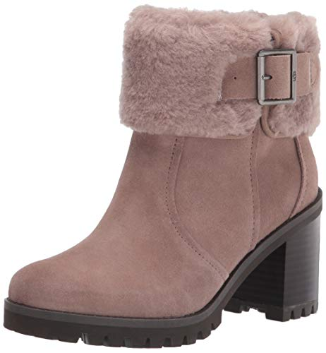 UGG womens Elisiana Fashion Boot, Caribou Suede, 9 US