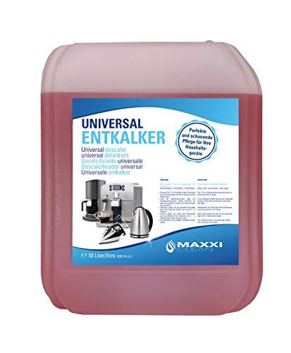 10 litres de détartrant universel Maxxi Clean pour votre machine à café avec bec verseur - Convient pour toutes les marques connues - Détartrant pour un nettoyage en profondeur