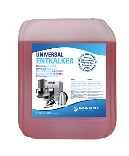 Maxxi Clean - Decalcificante universale per la macchina da caffè con beccuccio, adatto per tutte le marche note, anticalcare per una pulizia extra profonda.