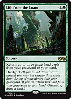 Magic: The Gathering - Life from The Loam - Ultimate Masters - Rare