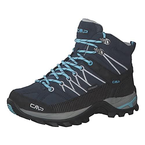 CMP Damen Trekking Schuhe Rigel MID 3Q12946 Blue-Stone 39