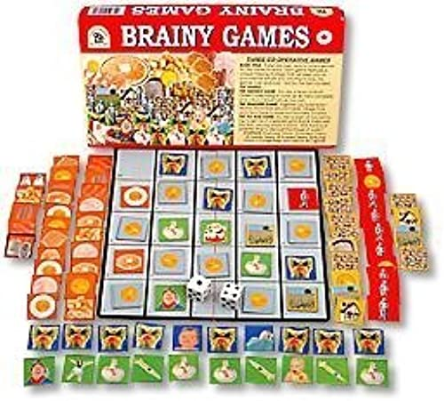 Family Pastimes   Brainy Games - A 3-in-1 Co-operative Game by Family Pastimes Ltd.