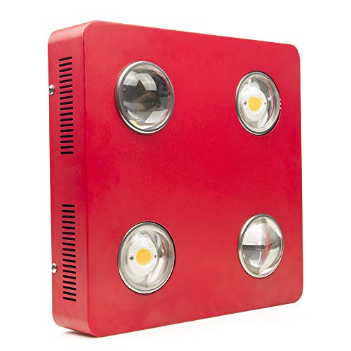 Dimmable COB Full Spectrum LED Grow Light 800W Citizen Bridgelux Indoor LED Plant Grow Lamp for Hydroponics Greenhouse Plant All Stage Seeding Veg & Flower Growing