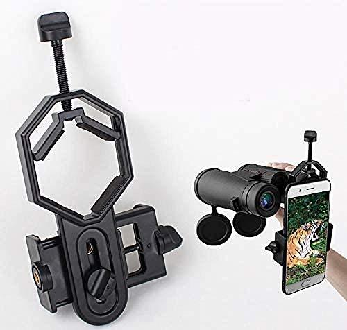 KONGWU Adaptador universal para cámara telescopio JV23 Adaptador de montaje con clip para Spotting compatible con prismáticos, monoculares, telescopio astronómico y microscopio increíble