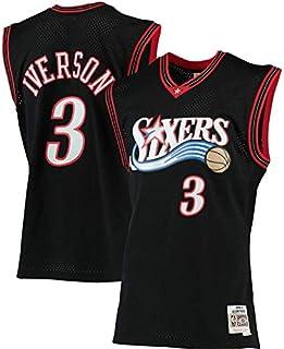 Portland Trail Blazers #0 Basket Jersey Maglia Canotta canottejerseyNBA Damian Lillard Swingman Ricamata Abbigliamento Sportivo S, Rosso