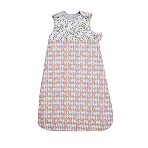 Naforye Schlafsack für Neugeborene und Kleinkinder, 0-3 Jahre, 2,5 Tog, 100 % Baumwolle, Diamant-Latex, 420 g