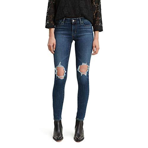 Levi's Damen 711 Skinny Jeans, Maui Breeze, 38 DE Large