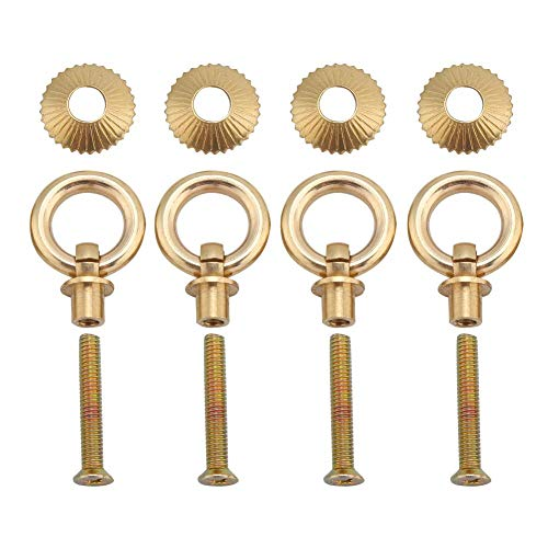 AUNMAS 4pcs/pack Vintage Pull Rings Mini Eenvoudige Cosmetische Case Sieraden Doos Bevestiging Handvat