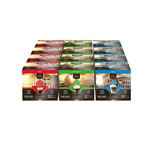 SanSiro Coffee Probierset Caffitaly - 120 Kapseln - für Tchibo* und Cafissimo* Kapselmaschinen