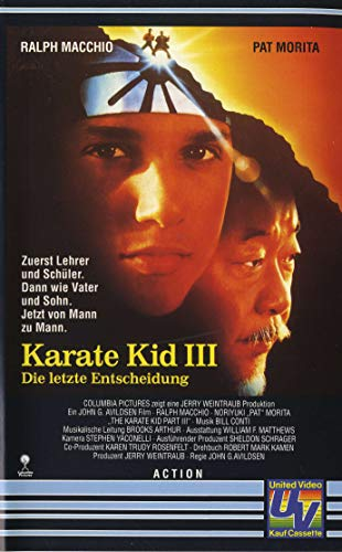 Karate Kid III - Die letzte Entscheidung [VHS]