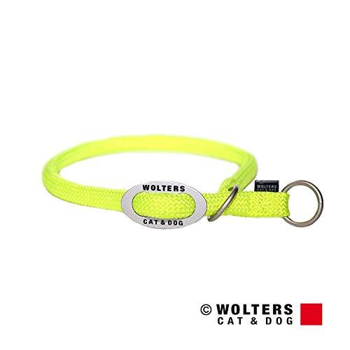 Wolters | Schlupfhalsband K2 neon gelb | Halsumfang 45 x B 1,3 cm