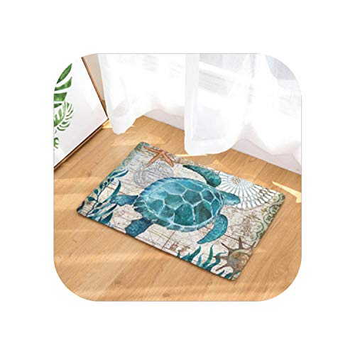 Fairy-Margot Teppiche Schlafzimmer |Neue waschbare Matte Schlafzimmer Bodenplatte rutschfeste Badteppich Türmatte In/Outdoor-A-400MMx600MM