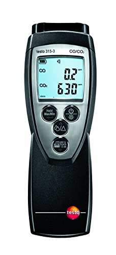 testo 300632-3155 CO en CO2 meetinstrument voor Ambient meet-, val en printer