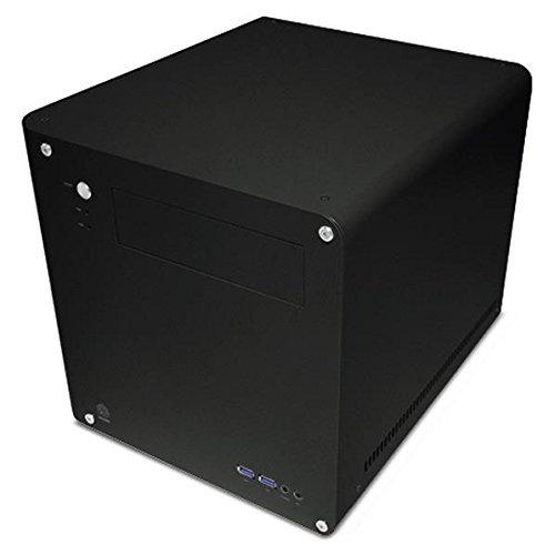 アビー abee PCケース acubic CM10 キューブ型 マイクロATXケース シルキーブラック塗装 ACE-CM10-SBK