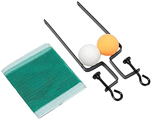 ZFQZKK Conjunto de tenis de mesa de red de red portátil para mesa de comedor, juegos de puertos portátiles de ping pong Portable Portátil Portátil Ping-Pong Paddles Kit para familias actividad