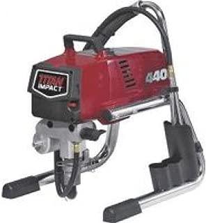 Wagner Spray TECH 805-000 Titan 440 Skid Frame Corded Piston Pump Paint Sprayer, 7/8 Hp, 0.54 Gpm, 3300 Psi