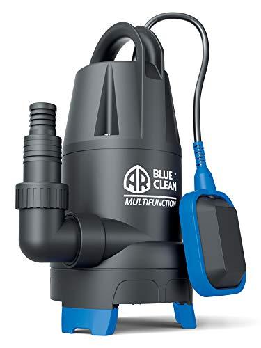 AR Blue Clean ARUP 750PT Pompa Immersione per Acque Chiare e Scure, 750 W, Portata massima 13.000 l/h, Prevalenza massima 8 m, nero/blu, small