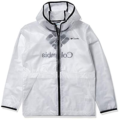 Columbia Kids & Baby Translucent Trail Rain Slicker, White, 3T
