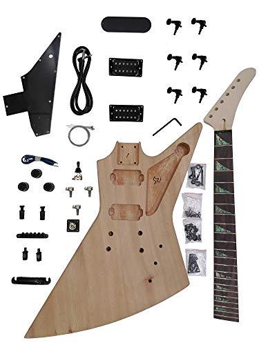 Explorer Guitarras eléctricas DIY Electric Guitar Kit