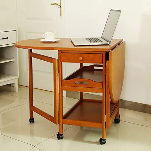 LLA salontafel klaptafel eenvoudig en modern draai de bureaubank kast study tafel slotenvakken, 2
