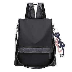 MOCA 12.6 inch Girls & Women Backpack (G45988J_Black)
