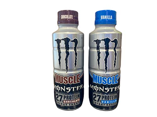Muscle Monster Energy Shake Protein…