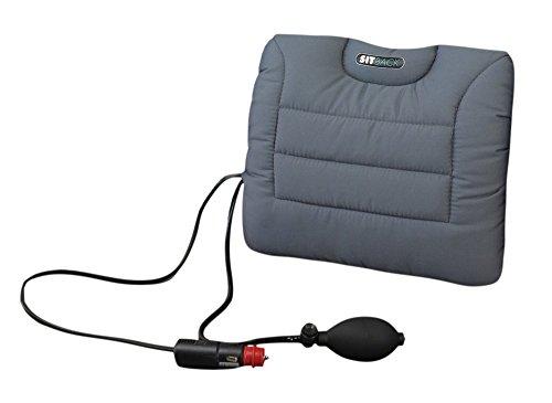 Sitback Air + Heizung universales Rückenstützkissen, Stoff grau