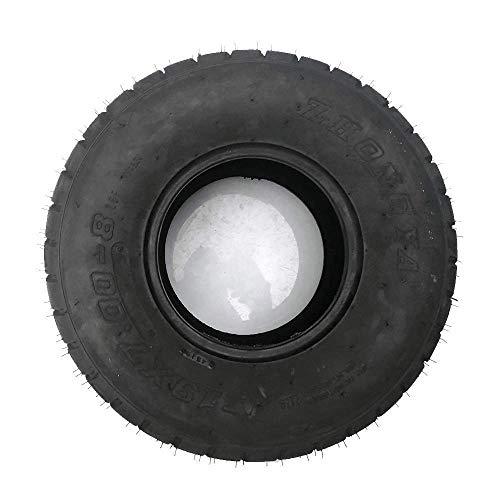 Neumáticos sin cámara 19X7.00-8, patrones de neumáticos exteriores de carretera resistentes al desgaste, adecuados para neumáticos de kart / ATV en las cuatro ruedas, neumáticos seguros y cómodos