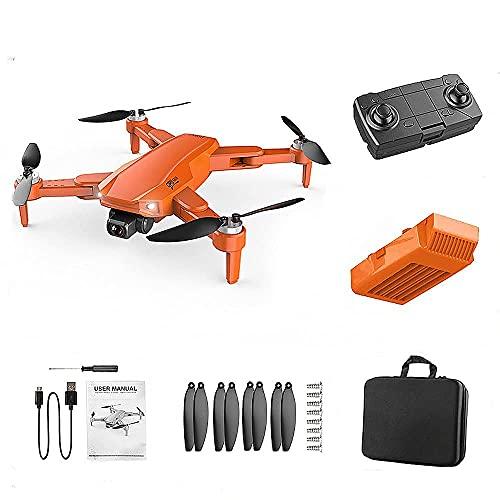 JJDSN Drone Pieghevole Ultraleggero, Drone GPS con Fotocamera 4K per Adulti, Doppia Fotocamera 5G WiFi FPV Drone Video Live 30 Minuti di Volo, Ritorno Automatico grandangolare 110 ° Seguimi, Borsa