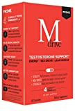 Mdrive Prime - Testosterone Support for Men, Max Energy, Stress Relief and Lean Muscle, KSM-66 Ashwagandha, S7 Nitric Oxide Booster, Bioperine and DHEA, 60 Capsules